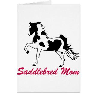 Pinto Saddlebred Mom Card