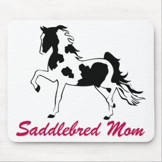 Pinto Saddlebred Mom Mouse Pad