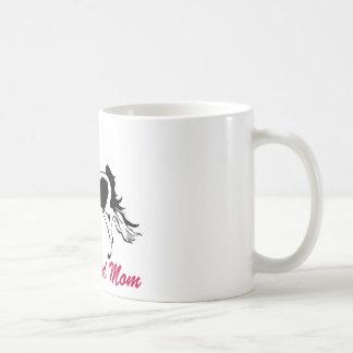 Pinto Saddlebred Mom Classic White Coffee Mug