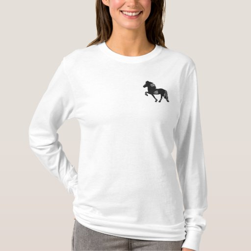 Pinto Tolt Embroidery Embroidered Long Sleeve T-Shirt