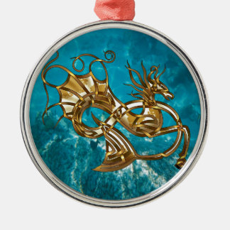 Pintocampus Metal Ornament
