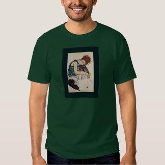 Pintor austríaco asentado 1917 de Egon Schiele de Camisas