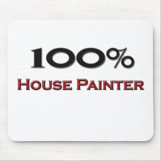 Pintor de casa del 100 por ciento tapete de ratón