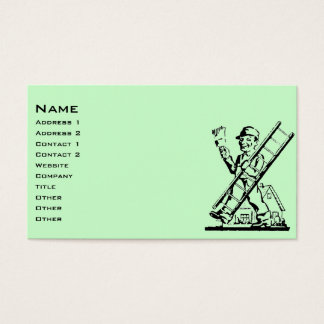 Pintor de casa del vintage tarjeta de negocios
