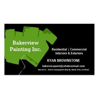 Pintor de casa Pro Painting Company Tarjetas De Visita