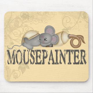 Pintor del ratón tapetes de ratón