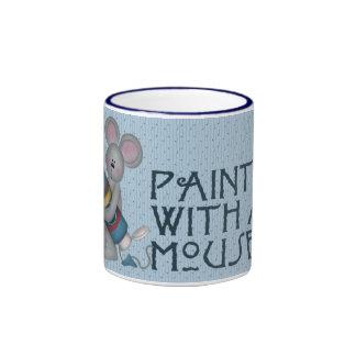Pintor del ratón tazas