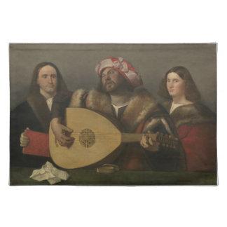 Pintor Giovanni Busi Cariani, nacido en Venecia Cloth Placemat