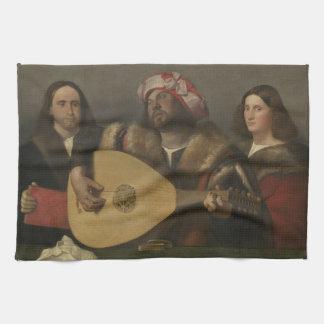 Pintor Giovanni Busi Cariani, nacido en Venecia Hand Towel