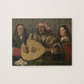 Pintor Giovanni Busi Cariani, nacido en Venecia Jigsaw Puzzle