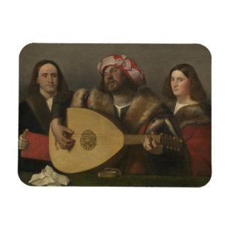Pintor Giovanni Busi Cariani, nacido en Venecia Rectangular Photo Magnet
