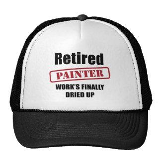 Pintor jubilado gorra