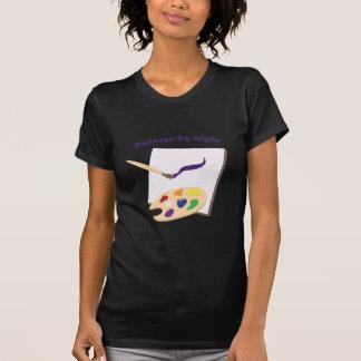 Pintor por noche tee shirt
