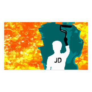 pintor profesional tarjetas de visita