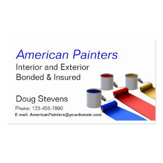 Pintor Tarjetas De Negocios