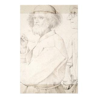 Pintor y perito de Pieter Bruegel Tarjetones