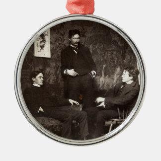 Pintores Everett Shinn Robert Henri Juan Sloan Adorno Redondo Plateado