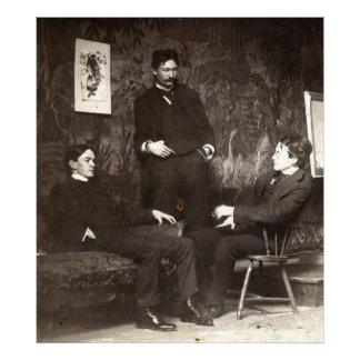 Pintores Everett Shinn Robert Henri Juan Sloan Cojinete