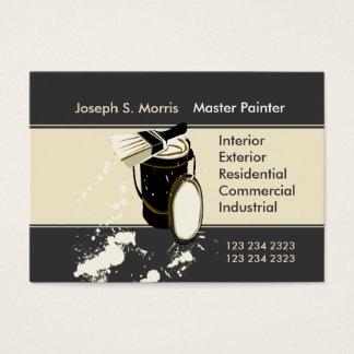 Pintores que pintan mejoras para el hogar de los tarjetas de visita grandes