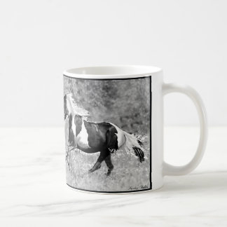 Pintos Galloping, Customizable Coffee Mug