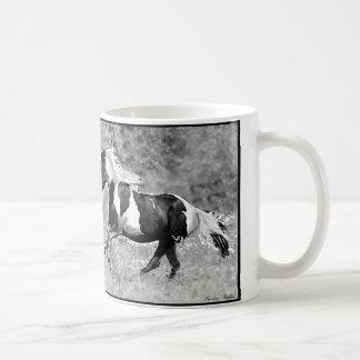 Pintos que galopan, personalizable taza clásica