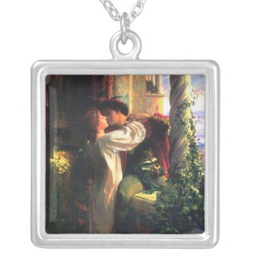 Pintura 1884 de Dicksee del ~ de Romeo y de Juliet Pendiente