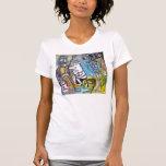 Pintura #4 Rodin en Vegas Camisetas