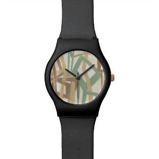 Pintura a pulso del normando Wyatt Reloj De Mano