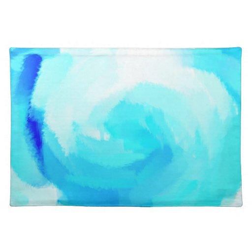 Pintura abstracta 14 de los colores retros mantel