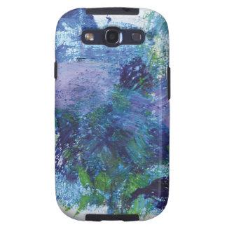 Pintura abstracta 2 Pegaso Samsung Galaxy SIII Funda