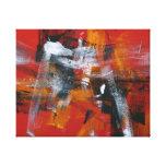 """Pintura abstracta 51"""" dicha impresiones en lona"""