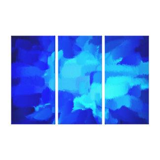 Pintura abstracta abstracta 6 del arte el | impresiones de lienzo