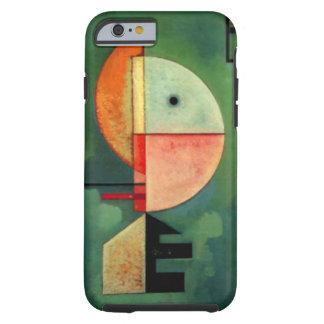 Pintura abstracta ascendente de Kandinsky Funda Para iPhone 6 Tough
