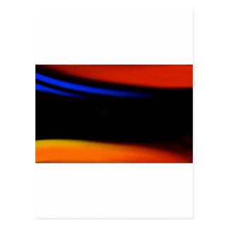 """Pintura abstracta colorida """"abrazo la oscuridad """" postales"""