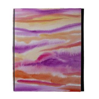 Pintura abstracta colorida de la acuarela