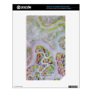 Pintura abstracta con los puntos NOOK color skins