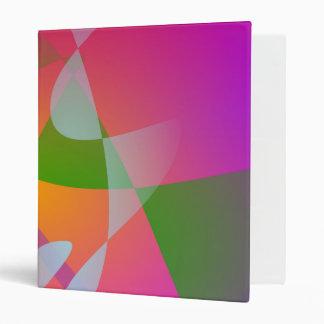 Pintura abstracta de Digitaces del color vivo