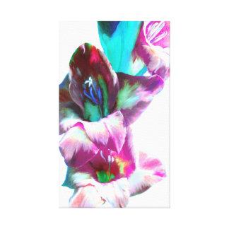 Pintura abstracta de Gladiola Lona Estirada Galerías