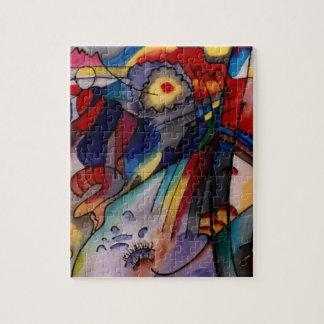 Pintura abstracta de Kandinsky 1913 Rompecabeza
