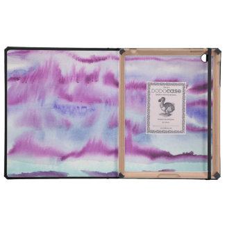 Pintura abstracta de la acuarela iPad coberturas