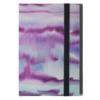 Pintura abstracta de la acuarela iPad mini cárcasa