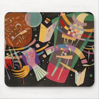 Pintura abstracta de la composición 10 de tapetes de ratón