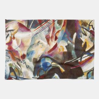 Pintura abstracta de la composición VI de Toallas