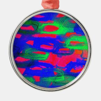 Pintura abstracta de neón intrépida de la acuarela ornamentos para reyes magos