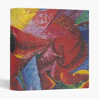 Pintura abstracta de Umberto Boccioni