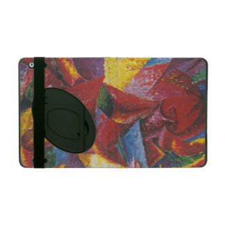 Pintura abstracta de Umberto Boccioni iPad Carcasas