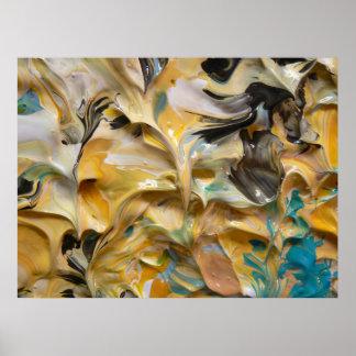 Pintura abstracta (detalle) #818_B Impresiones