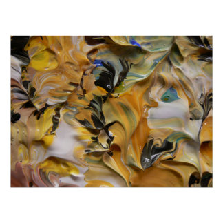 Pintura abstracta (detalle) #819_B Impresiones