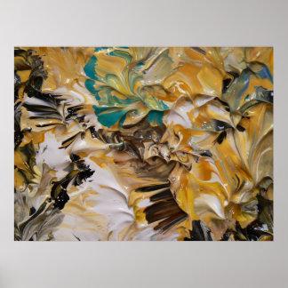 Pintura abstracta (detalle) #820 impresiones