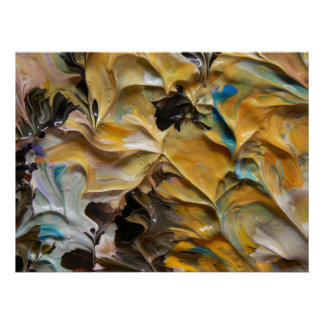 Pintura abstracta (detalle) #825_B Impresiones